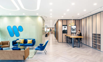 Warner Music Beijing, de Bean Buro