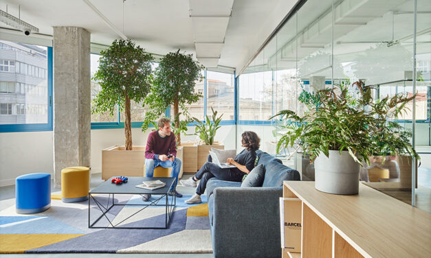 Cloudworks startup hub 22@, proyecto de Elastiko Architects