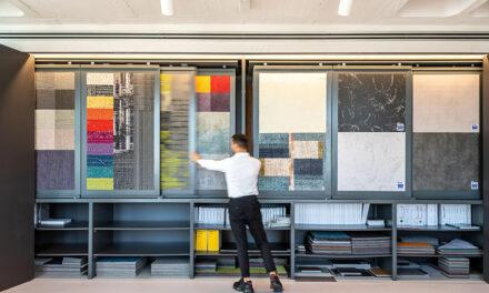 Showroom despacho de Intec, proyecto de Carlos Manzano Arquitectos y Experience Lab