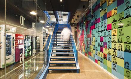 Oficinas Ubisoft en Quebec, proyecto de Coarchitecture