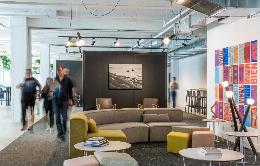 Imperatori Design proyecta la sede Frank & Oak en Montreal