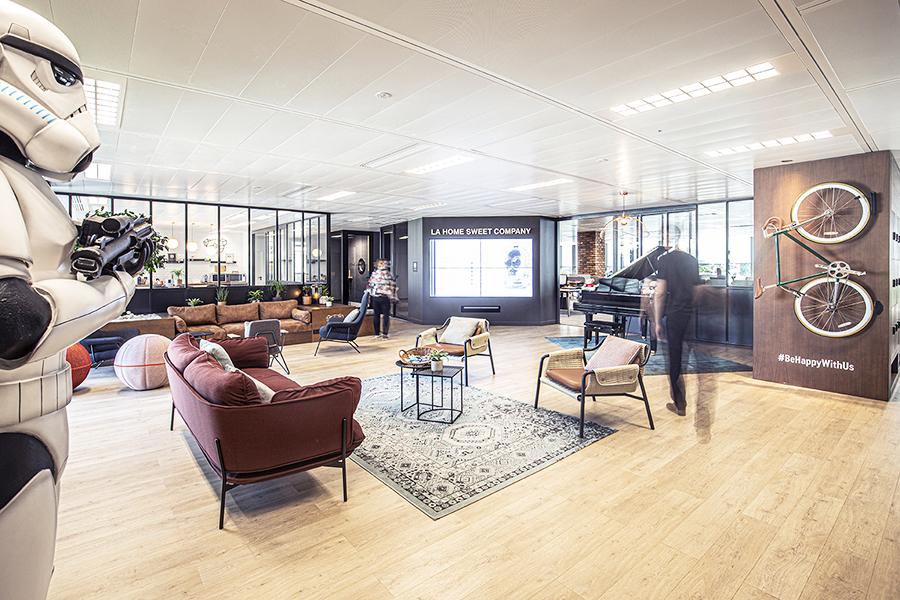 Sede de The Home Sweet Company París, proyecto de Yad Space
