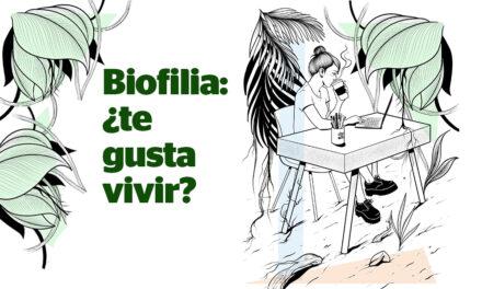 La biofilia es una herramienta para mejorar resultados.