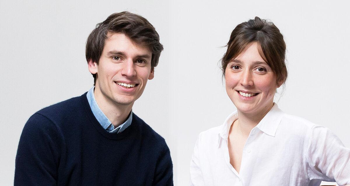 """mantener la atmósfera industrial"" Maxime Grouffal y Constance Coeurderoy, Atelier Paramètre"