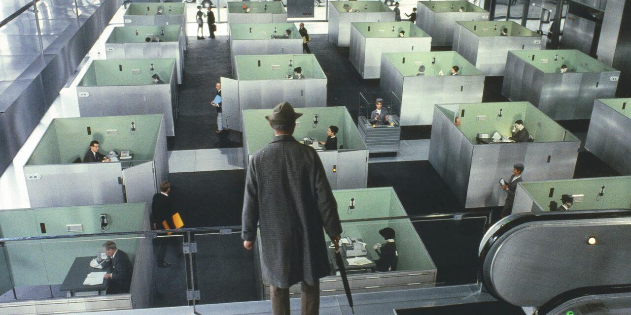 Playtime de Jacques Tati: ratones en el laberinto