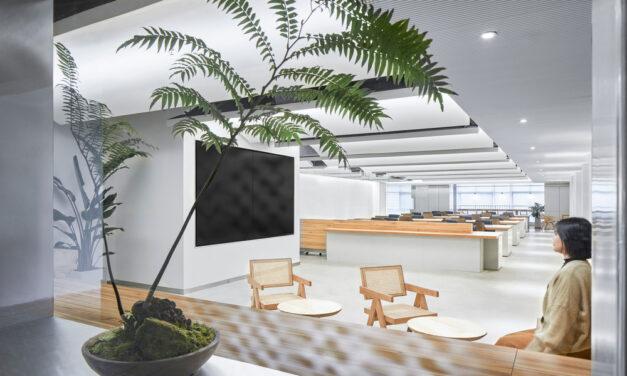 Studio Dotcof proyecta la sede de Qin Group en Chengdu Shi, China