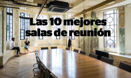 Diez salas de reuniones diferentes, funcionales y atractivas