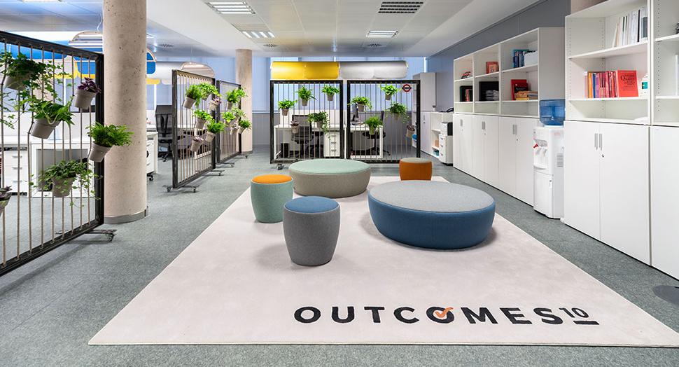 Oficinas Outcomes 10 Castellón, de Gap Interiorismo