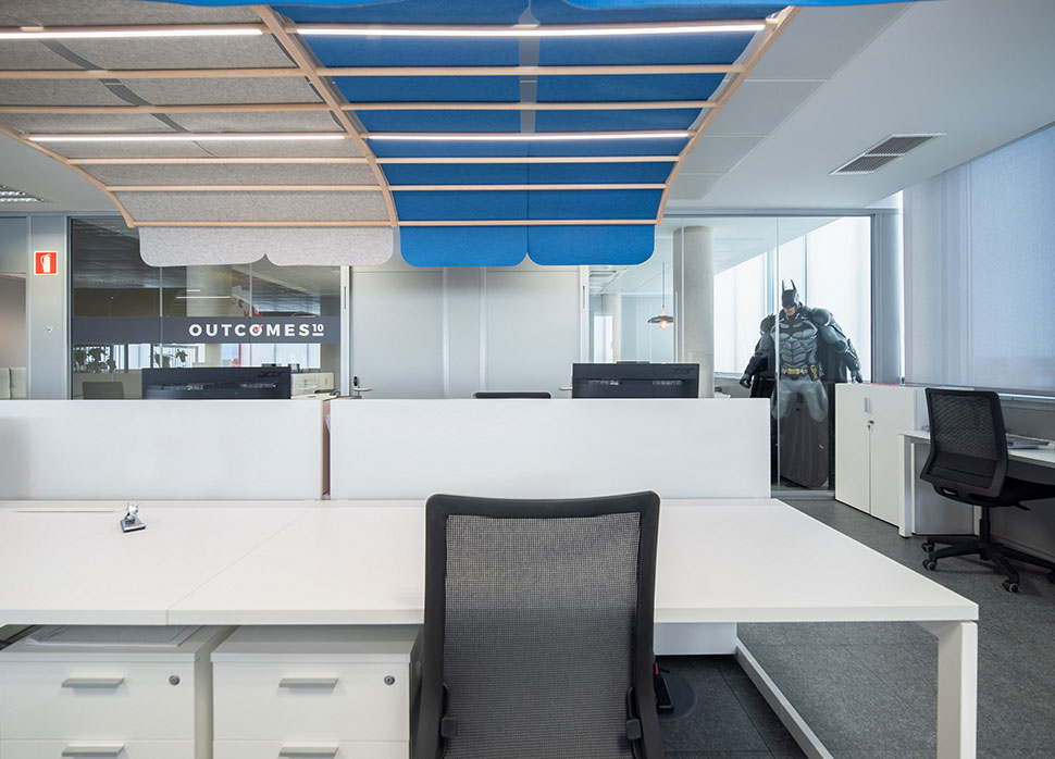 Oficinas Outcomes Gap Interiorismo