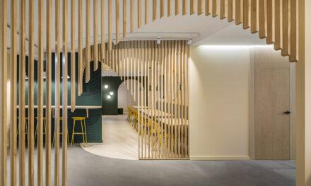 Oficinas Grupo Sipcam Valencia, proyecto de Dobleese