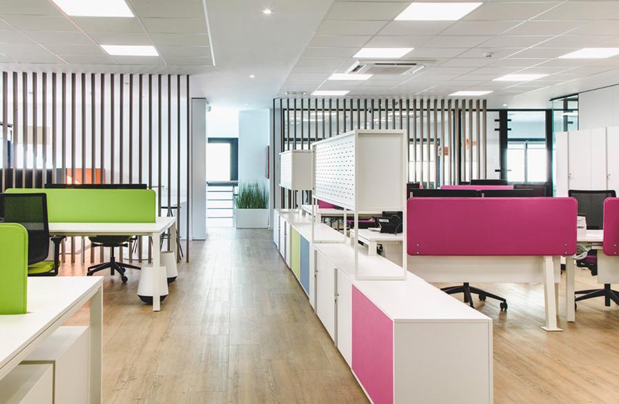 Oficinas Calmell Group en Montcada, Barcelona, proyecto de Tandem