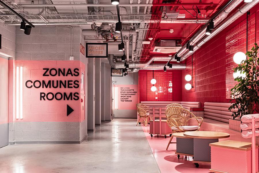 Masquespacio diseña  la nueva residencia universitaria Resa San Mamés en Bilbao