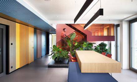 IPPOLITO FLEITZ GROUP diseña las oficinas de Schöller en Reutlingen