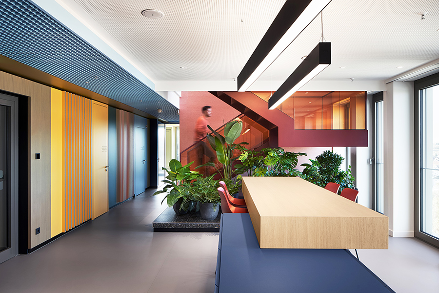 Oficina Schöller, proyecto de Ippolito Fleitz Group