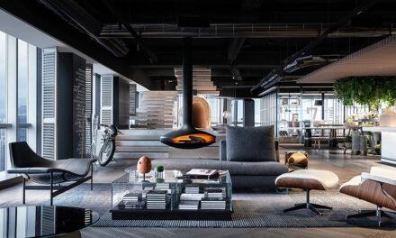 Diseño de oficinas de Experiencias Vitales de Cheng Chung Design