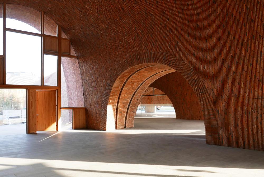 Museo del Horno Imperial de Jingdezhen, China, de Estudio Zhu-Pei