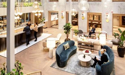 Diseño de oficinas de coworking Cecil en Estocolmo, de Stylt Trampoli