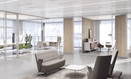 Sistema de separadores 3-6-9 de Estel para diseño de oficinas