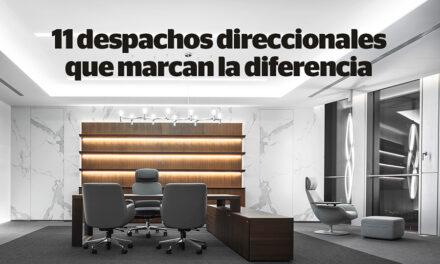 11 despachos de dirección singulares, prácticos y atractivos