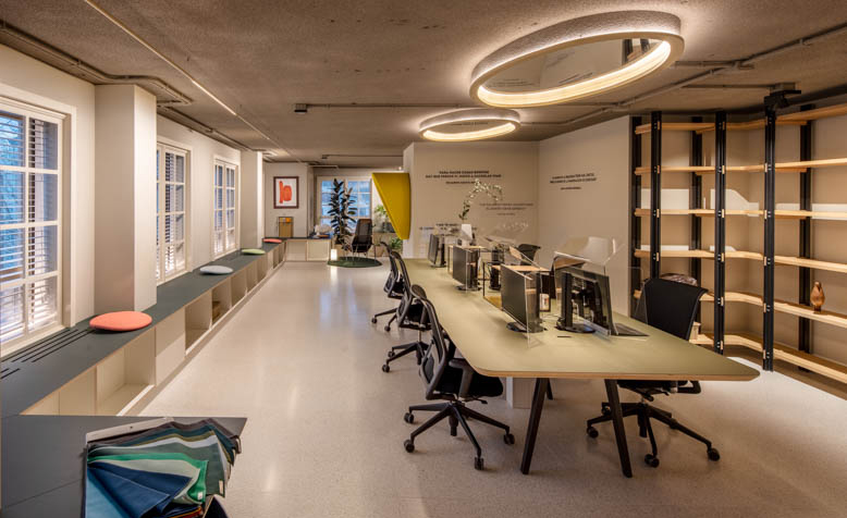 Oficinas Sutega en A Coruña, proyecto de Iván Cotado