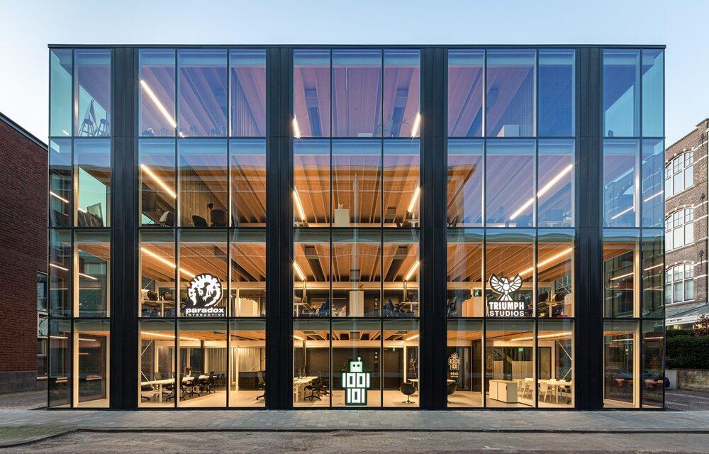 Edificio D(emountable) en Delft, Países Bajos, proyecto de Cepezed