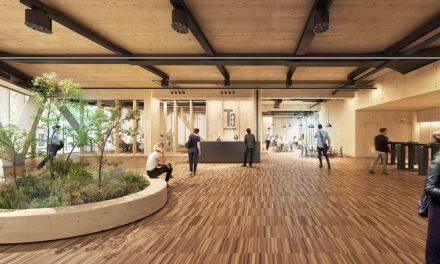 Henderson Park y Hines construirán un edificio de oficinas de madera en Barcelona, el primero de Europa