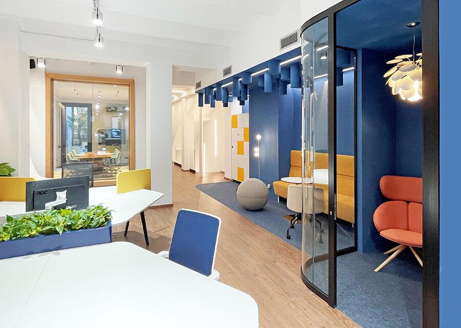 Nuevo showroom Estel: la evolución del workspace