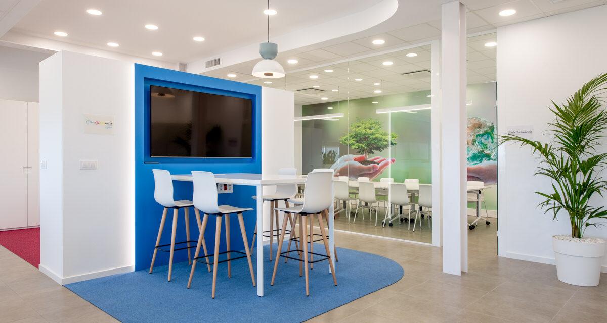 Oficinas de Pigmea en Alcalá la Real, proyecto de Attemporal