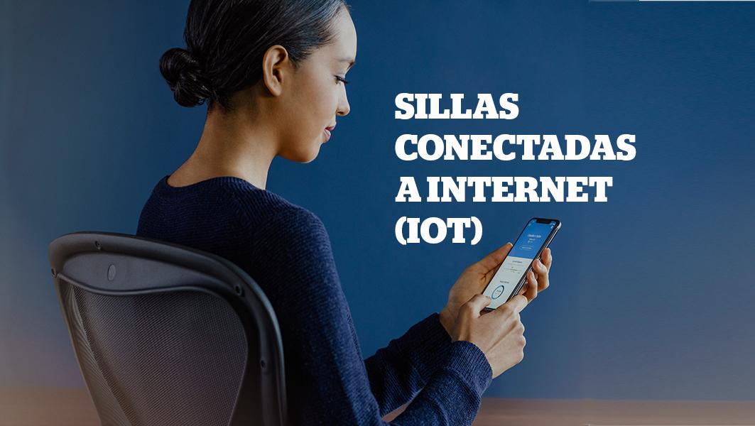 Sillas conectadas a Internet memorizan las preferencias de las personas