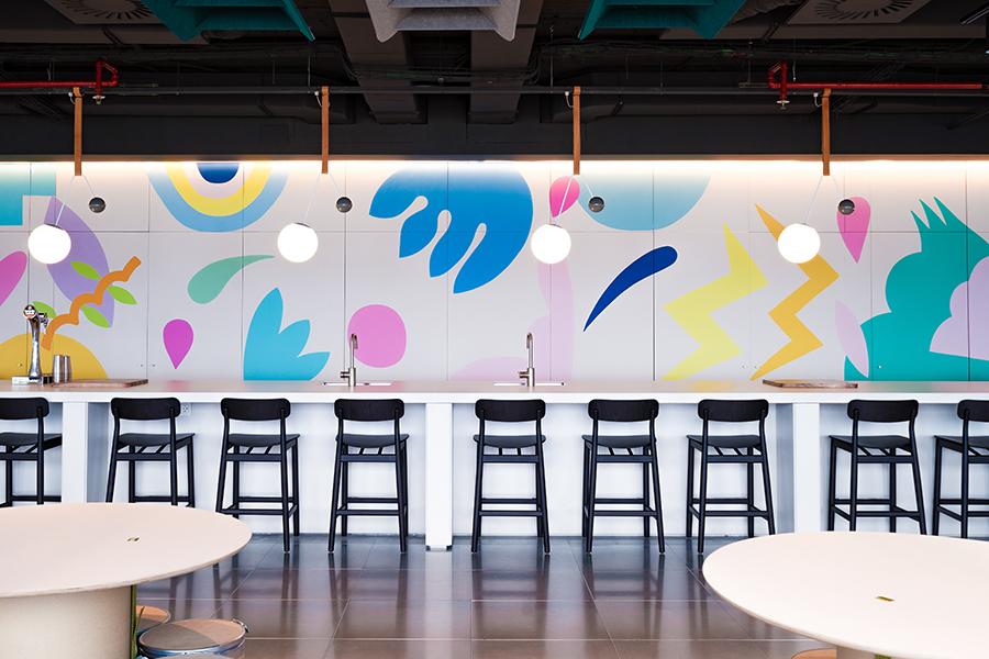Oficinas de Doctoralia en Barcelona, proyectadas por Lagranja Design
